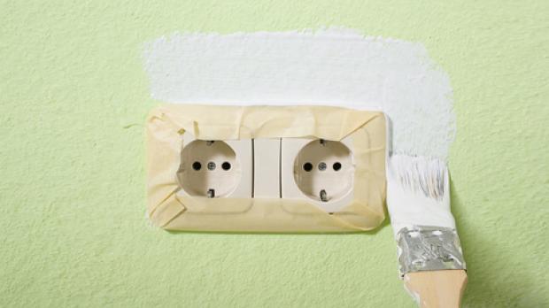 Mask off the socket