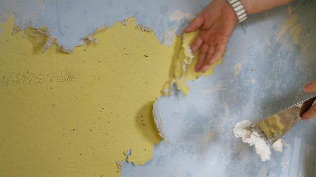 Remove woodchip wallpaper
